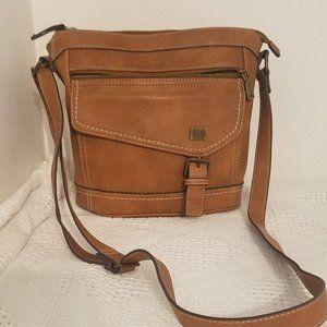 B.O.C Brown leather shoulder bag